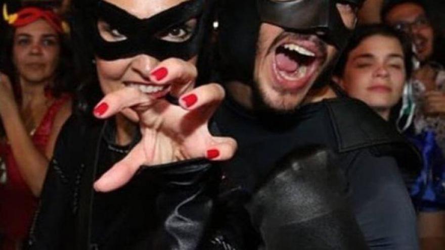 Fátima Bernardes aproveitou bastante as festas ao lado do namorado, Túlio Gadelha