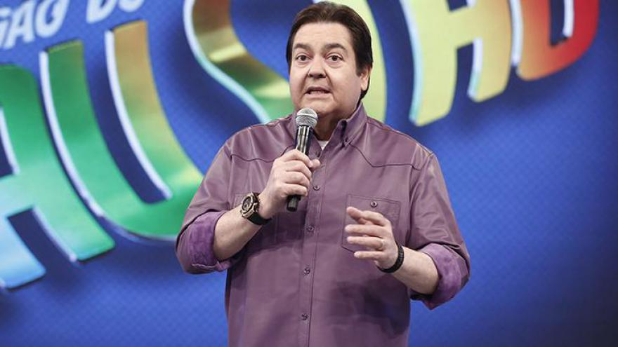 Faustão é um dos grandes comunicadores da nossa televisão