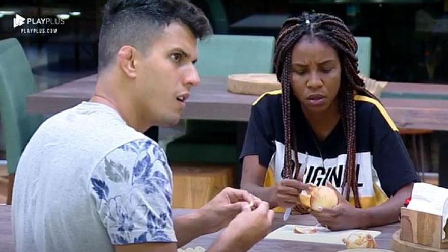 Felipe e Luane ficam chocados com sonho de Gabi