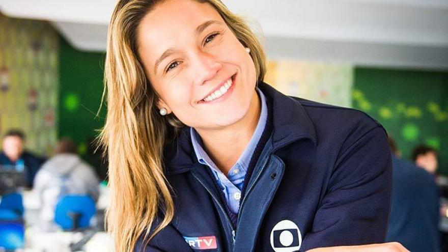 Fernanda Gentil, eleita a Melhor jornalista esportiva