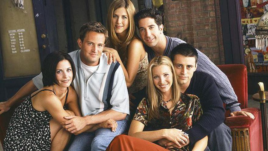 Em segundo aparece Friends, sitcom de sucesso nos Estados Unidos entre 1994 e 2004
