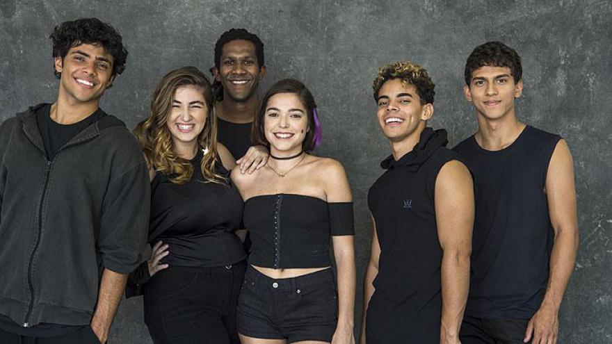 Elenco de dança Malhação: Vidas Brasileiras