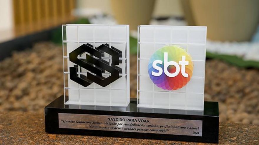 Executivo recebeu homenagens nesta terça-feira (18) na sede do SBT