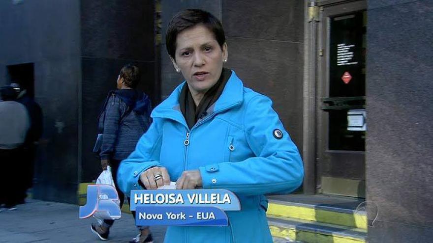 Heloísa Villela, eleita a Melhor repórter correspondente