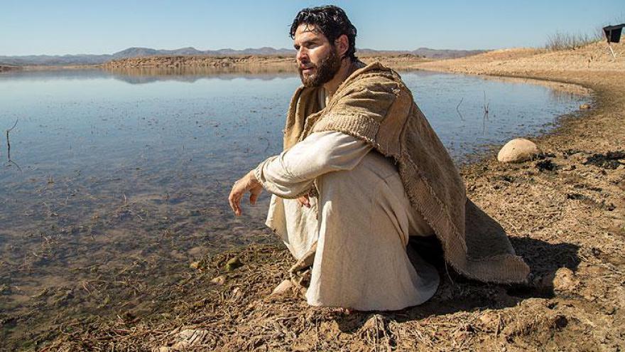 Dudu Azevedo como Jesus Cristo