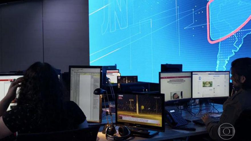 Novo Jornal Nacional contará com uma redação nova de jornalismo. Ela reunirá jornalistas de TV e da Internet.