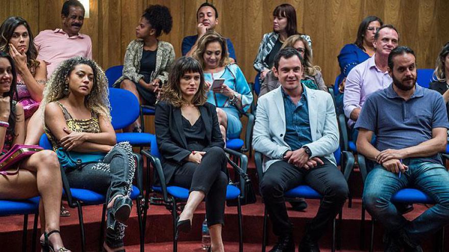 Plateia do julgamento