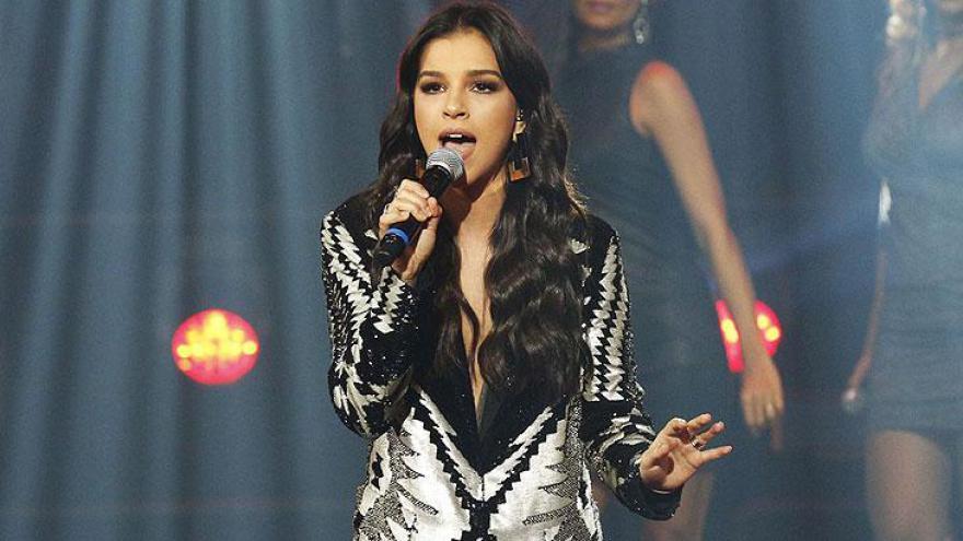Mariana Rios se apresentou ao som de Beyoncé
