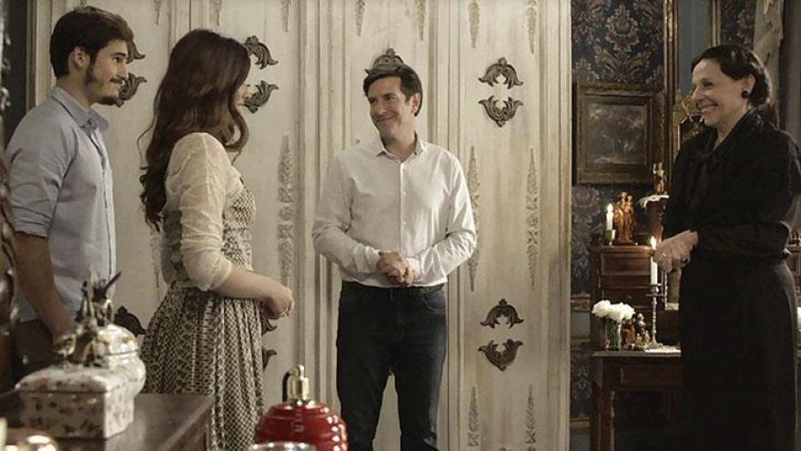 Marocas e Samuca podem se casar com aprovação de Agustina