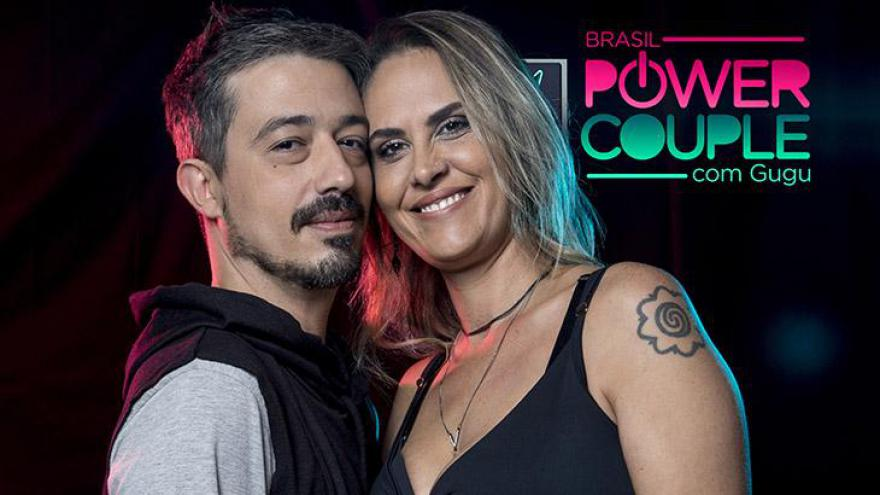 Aritana Maroni e Paulo Rogério