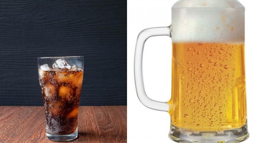 Refrigerante ou cervejinha?