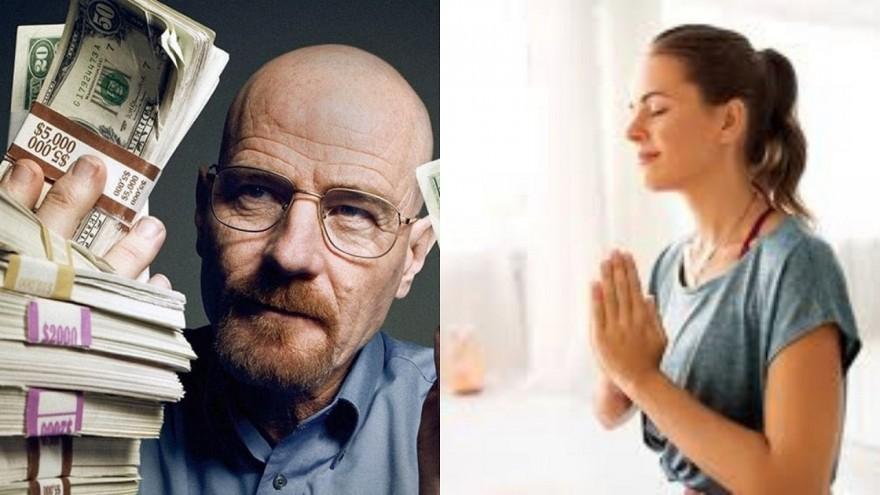Dinheiro ou felicidade?