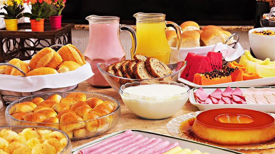 E o café da manhã?