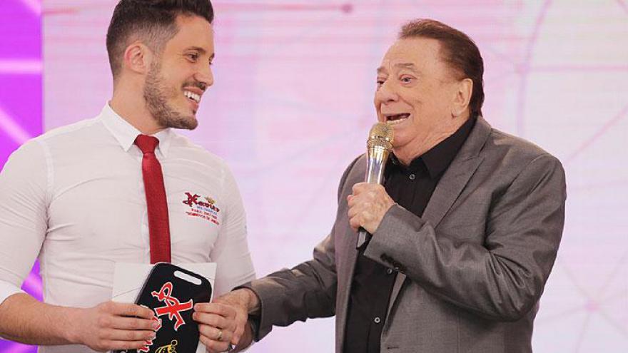 Raul Gil no Teleton 2018