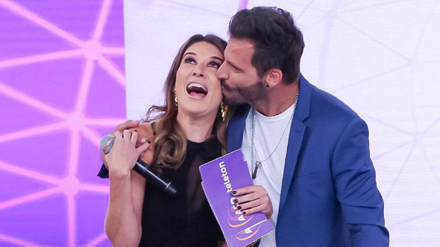 Rebeca Abravanel e Henri Castelli