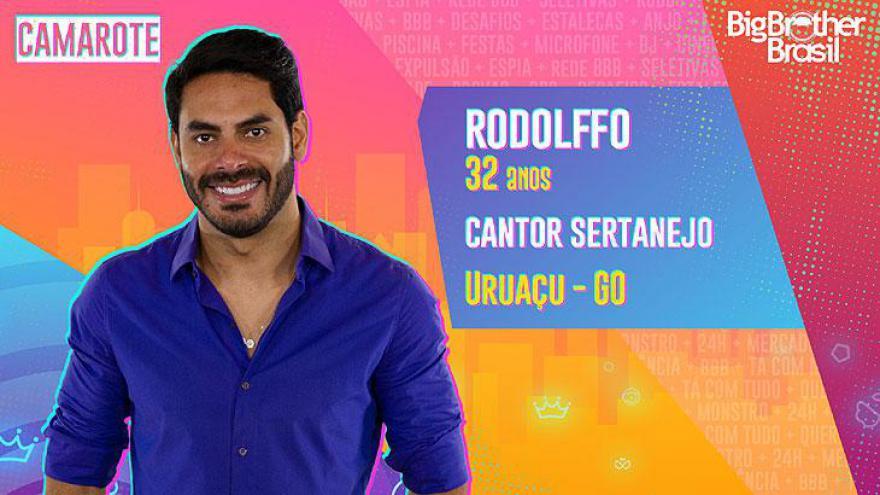 Natural de Uruaçu, Goiás, o cantor Rodolffo tem 32 anos de vida e 25 de carreira com a dupla Israel & Rodolffo