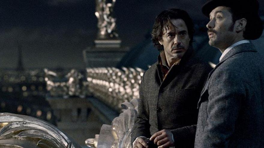 Sherlock é a mais vista. Conta a história do detetive mais famoso do mundo com Benedict Cumberbatch protagonizando.