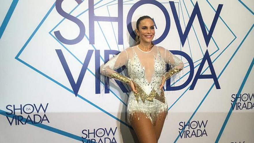 Ivete Sangalo causou enorme expectativa da imprensa