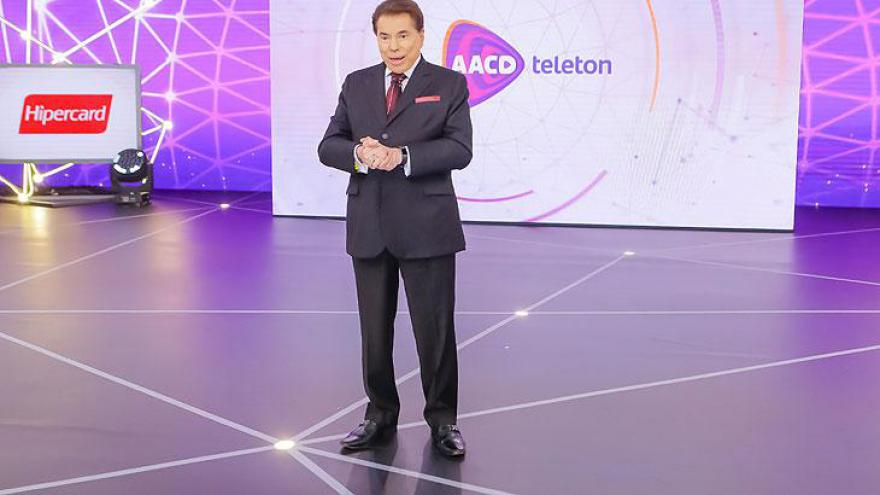 Silvio Santos no Teleton 2018