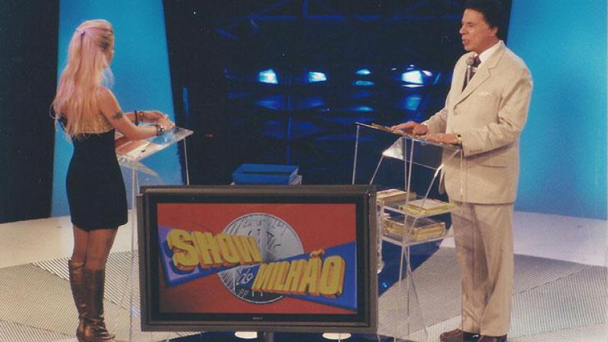 Silvio Santos no estouro Show do Milão