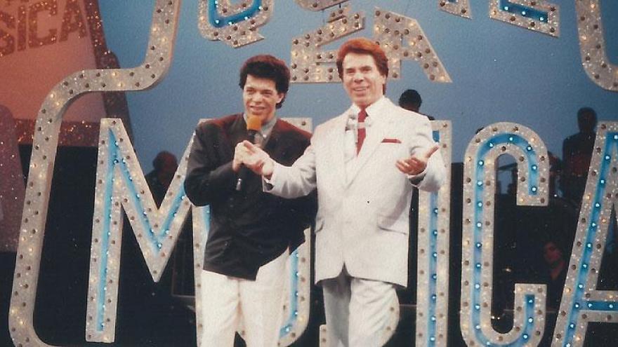 Silvio Santos e Wando no Qual é a Música?