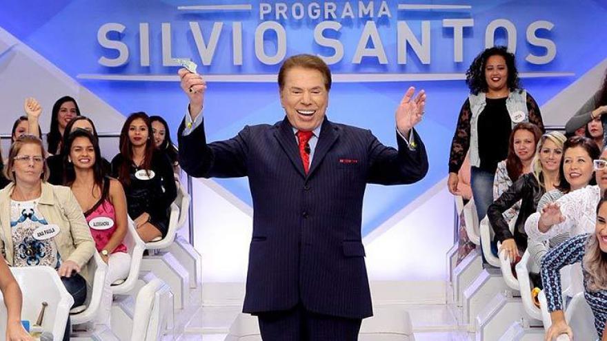 Silvio Santos é o Melhor Apresentador de 2017