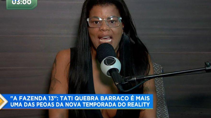 Tati Quebra-Barraco estará em A Fazenda 13
