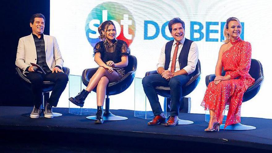 Celso Portiolli, Maisa, Daniel e Eliana