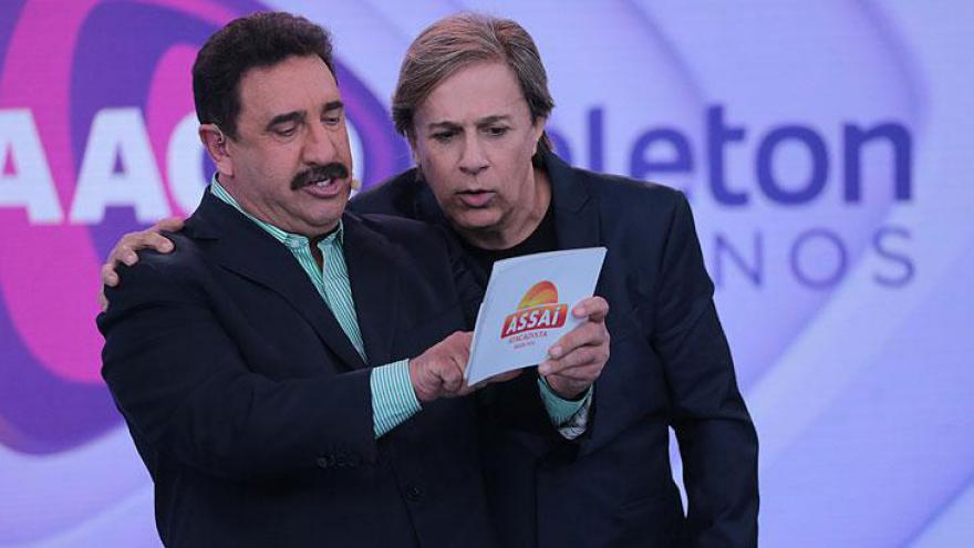 Ratinho e Tom Cavalcante