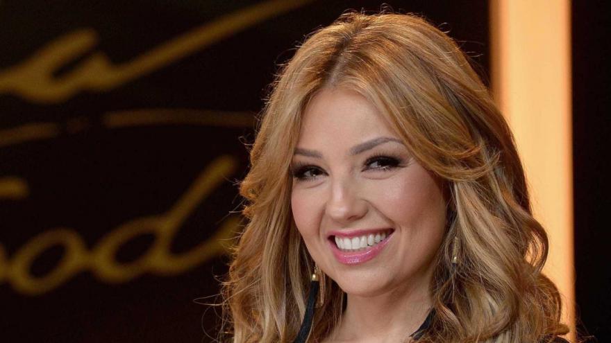 Thalía é cantora, empresária, atriz, em sua carreia estrelou sete telenovelas.