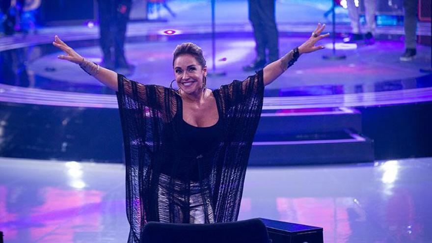 Daniela Mercury integrou a equipe de jurados do programa