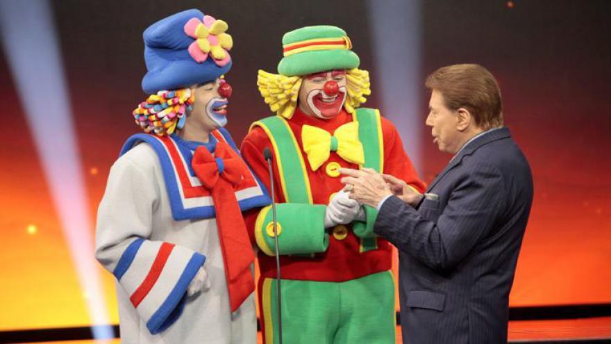 Silvio Santos disse que se surpreendeu com o sucesso de Patati Patatá