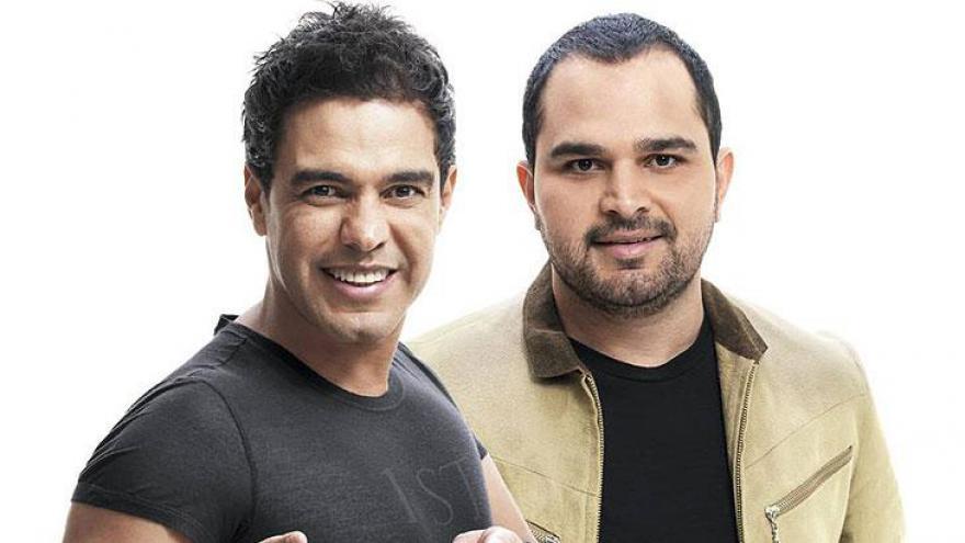 Zezé Di Camargo formou dupla com Luciano em 1990.
