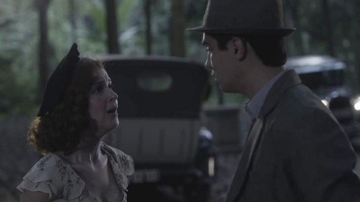 Carlos e Mabel irão discutir em Éramos Seis. Foto: Divulgação