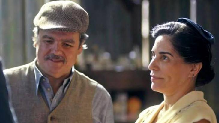 Lola e Afonso darão o primeiro beijo em Éramos Seis - Foto: Divulgação