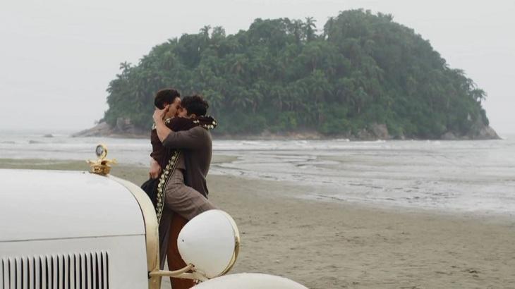 Em Éramos Seis, Alfredo e Adelaide viverão noite de amor. Foto: Divulgação