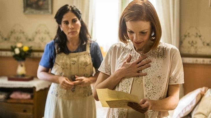 Em Éramos Seis, Olga ficará grávida e deixará Lola irada. Foto: Divulgação