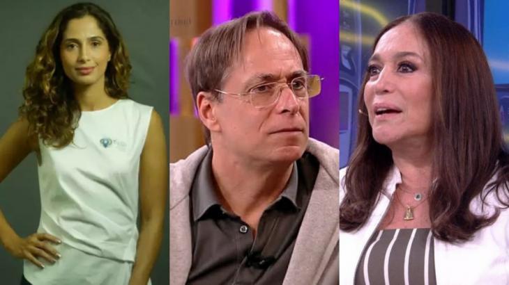 Camila Pitanga, Pedro Cardoso e Susana Vieira opinaram sobre a soltura de Lula (Foto: Montagem NT)