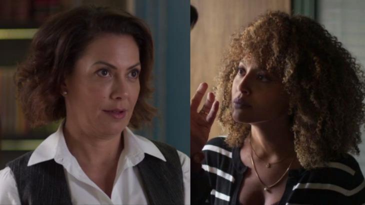 Nana e Gisele trocam farpas após revelação (Foto: Globo/Reprodução)