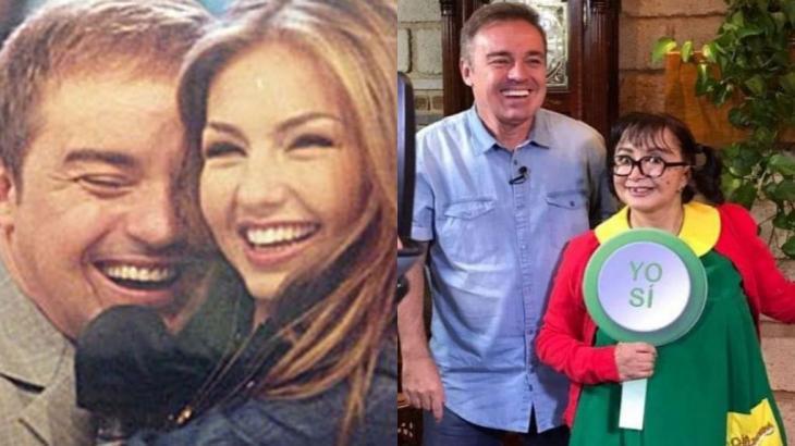Thalia e Chiquinha prestaram homenagens a Gugu em redes sociais (Foto: Montagem NT)