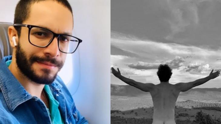Rainer Cadete surpreendeu fãs com foto ousada (Fotos: Instagram/Reprodução)