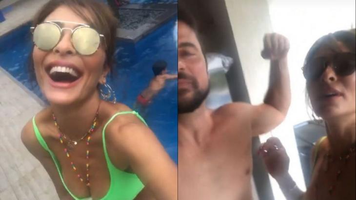 "Juliana Paes zoa marido flamenguista: ""Tá nervoso, mô?"""