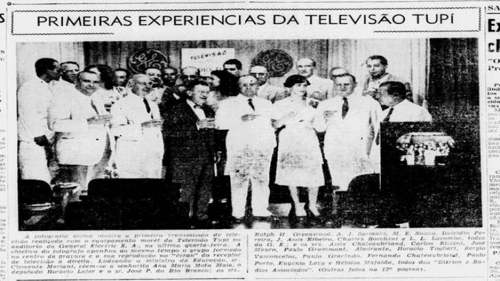 Foto: O Jornal - 1950