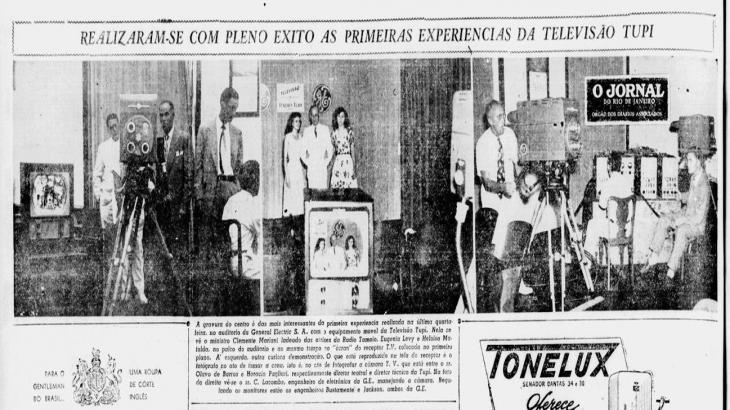 Foto: O Jornal 1950