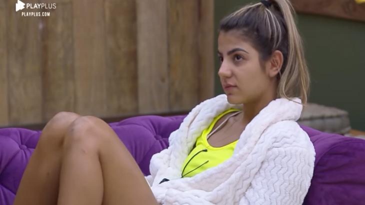 Hariany Almeida falou sobre Lucas Viana no reality show A Fazenda 2019 (Reprodução)