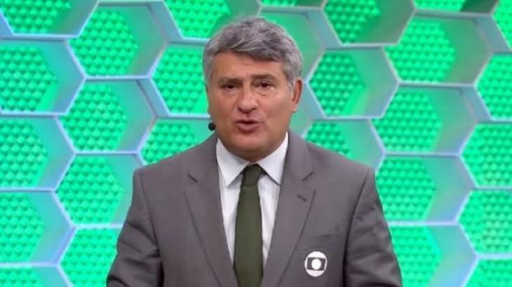 Cléber Machado foi ovacionado pelos telespectadores - Foto: Reprodução