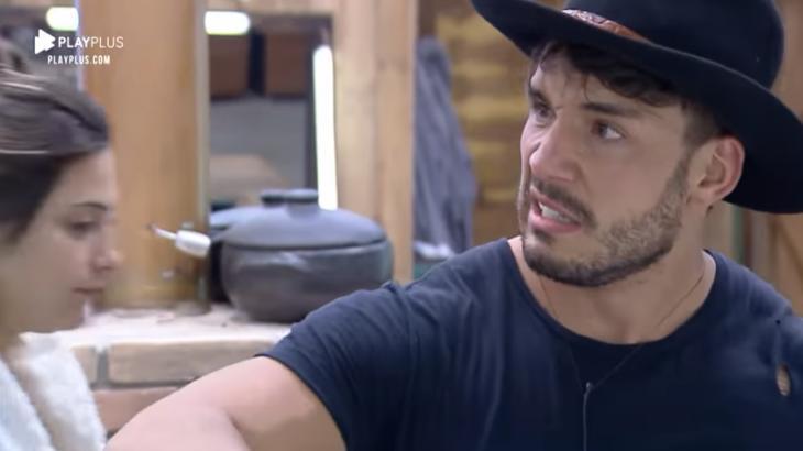 Lucas Viana gerou nova punição no reality show A Fazenda 2019 (Reprodução)
