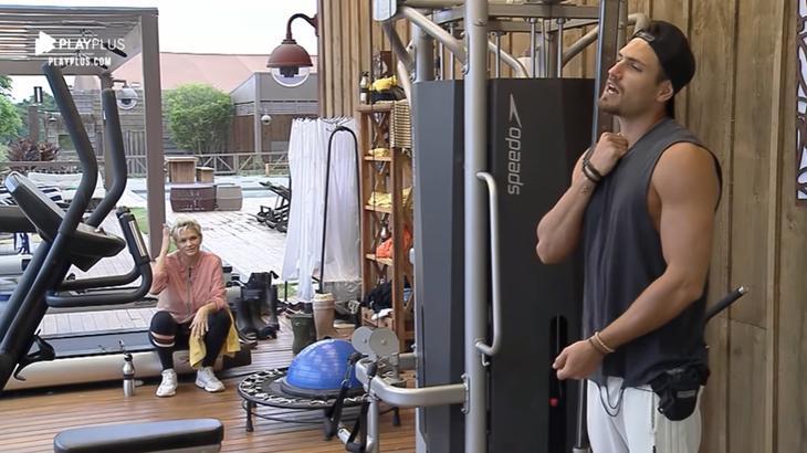 Guilherme Leão falou sobre fato ocorrido na vida fora do reality show A Fazenda 11 (Reprodução/Montagem)