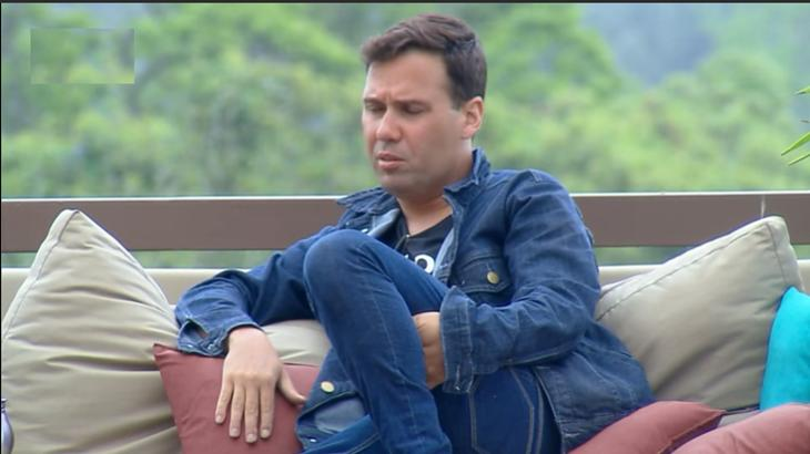 Viny Vieira durante o reality show A Fazenda 11 (Reprodução)
