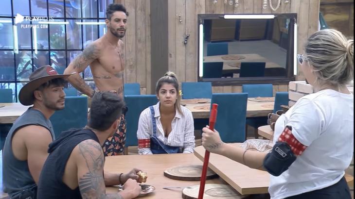 Diego Grossi explica situação no reality show A Fazenda 11 (Reprodução)